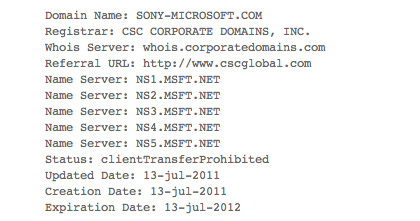 Microsoft-Sony