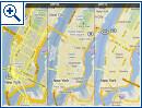 Google Maps mit verbesserten Karten
