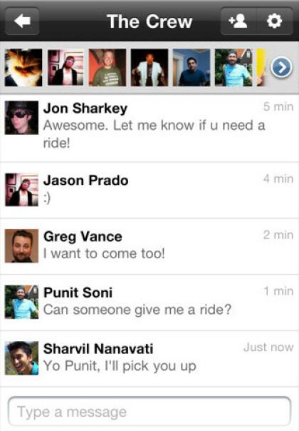 Google + iOS App