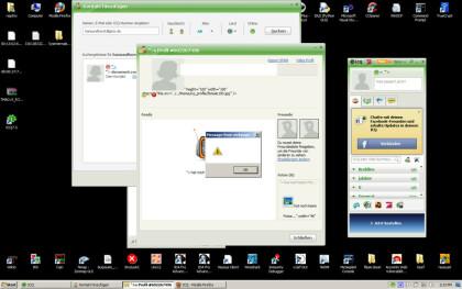 ICQ 7.5 Lücke