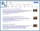 Google testet neues reduziertes Suchseiten-Design