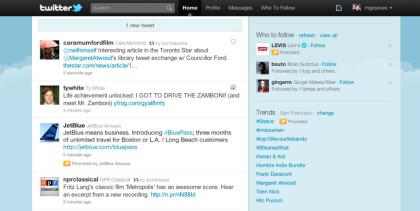 Promoted Tweet bei Twitter
