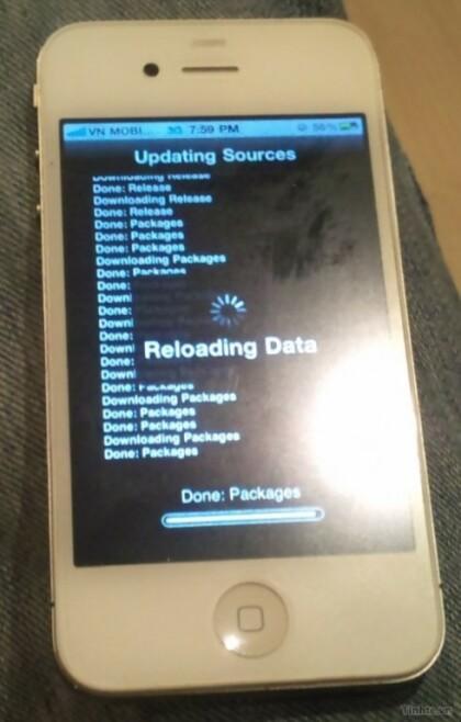 iPhone 4S Prototyp