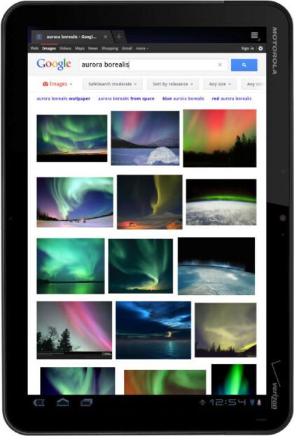 Google Suche Tablet