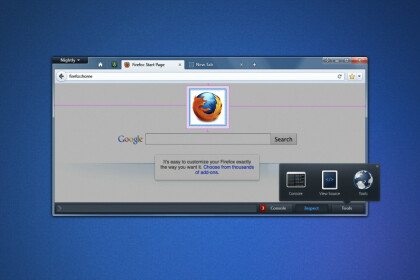 Neuer Look für die Entwicklertools in Firefox
