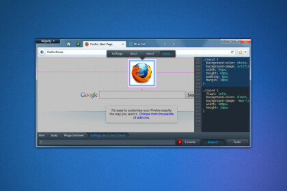 Neuer Look f�r die Entwicklertools in Firefox