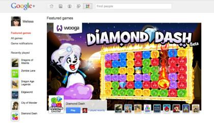 Google+ Spiele