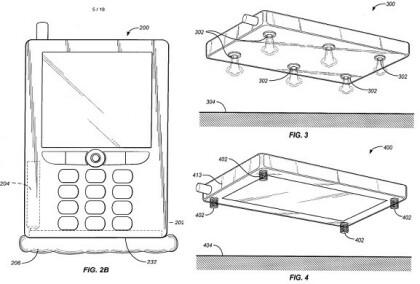 Patentantrag für Handy-Airbag