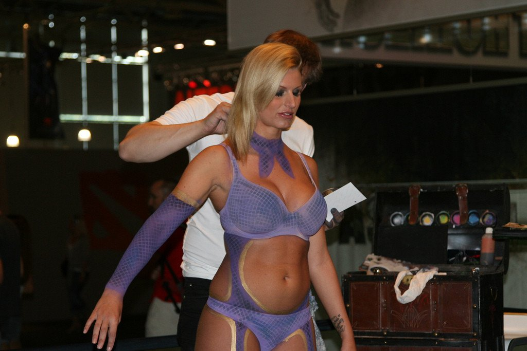 The Babes of Games Convention 2011