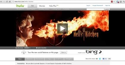 Hell's Kitchen bei Hulu