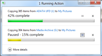 Windows 8: Kopieren neu gestaltet