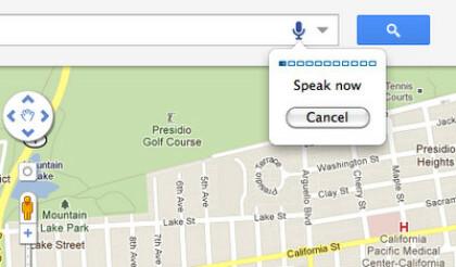 Google Maps Sprachsteuerung