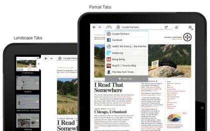 Firefox Mobile für Tablets