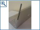 MacBook-Prototyp mit Antenne und SIM-Karten-Slot