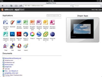 VMware AppBlast