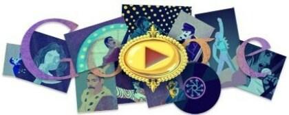 Google Doodle für Freddie Mercury