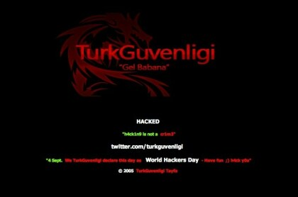DNS-Angriff von türkischen Hackern