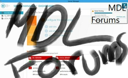 Windows 8 Server Metro-UI