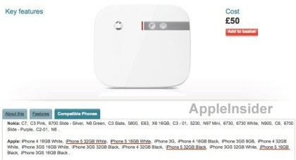 iPhone 5 bei Vodafone UK
