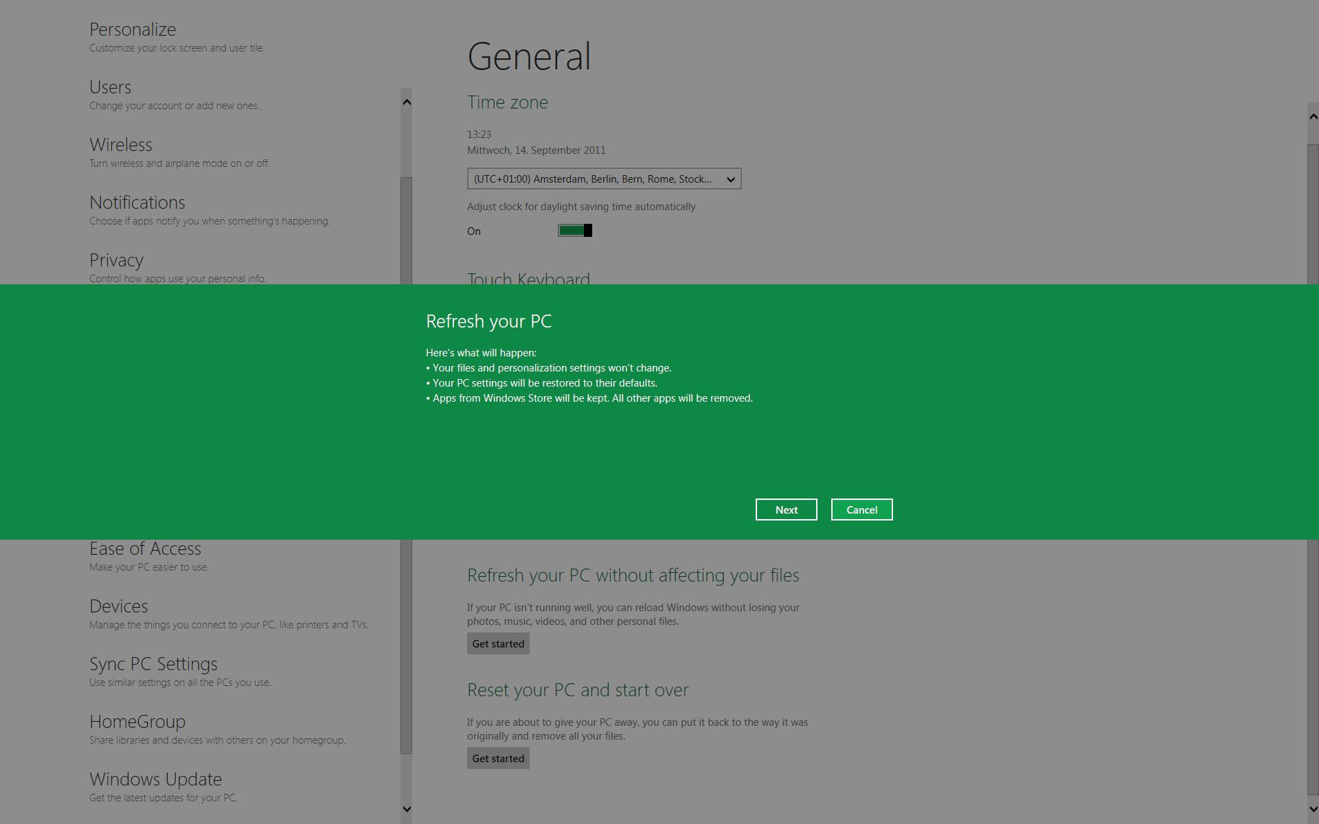 windows 10 neu installieren ohne daten zu verlieren