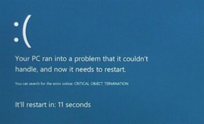 Windows 8 Blue Screen Of Death