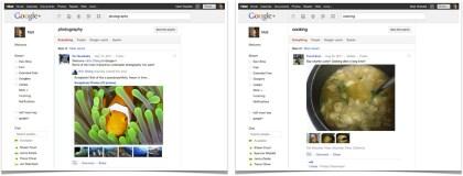 Google+ öffnet