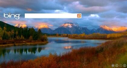 Bing HTML5-Hintergrund