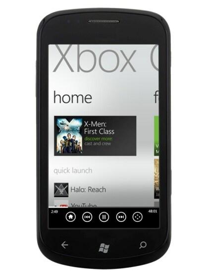 Xbox 360-Steuerung mit WP7