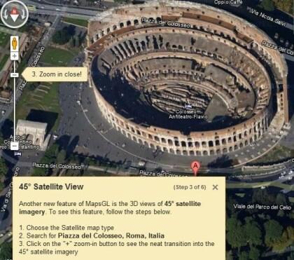 WebGL bei Google Maps