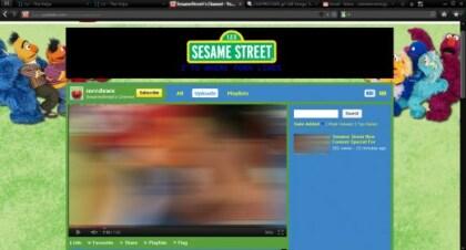 Sesamstraße-Hack YouTube