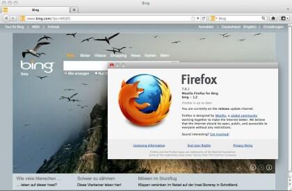 Mozilla Firefox for Bing