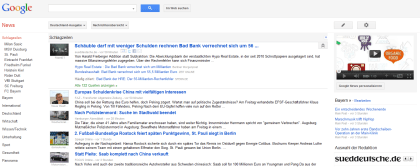 Google News: Redesign