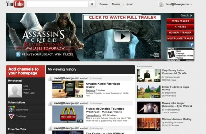 YouTube Redesign 11.2011