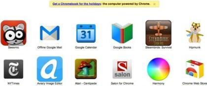 Chrome-Werbung
