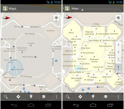 Google Maps Indoor-Navigation