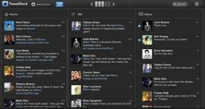 TweetDeck Webapp
