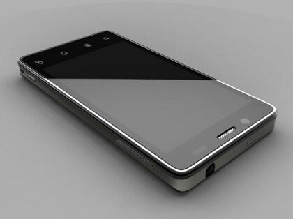 "Intel Atom ""Medfield"" x86-Smartphone Prototyp"
