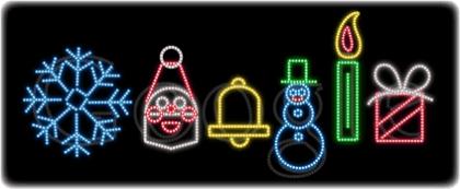 Google Weihnachtsschmuck