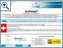 Microsoft Ransomware Warnung