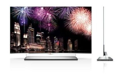 LG Electronics: OLED-TV mit 55 Zoll