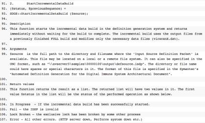 Symantec-Dokumentation