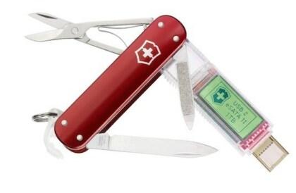 Taschenmesser mit 1-TB-SSD