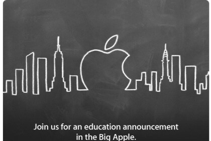 Einladung zu Apple-Event in New York