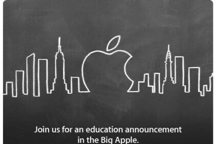 Einladung zu Apple-Event in New York