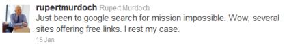Rupert Murdoch vs. Google