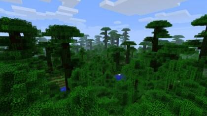 Minecraft Dschungelwelten