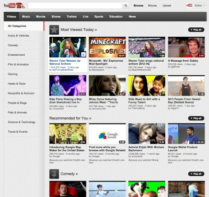 YouTube neue Features