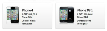Apple entfernt iPhones und iPads auf dem Store