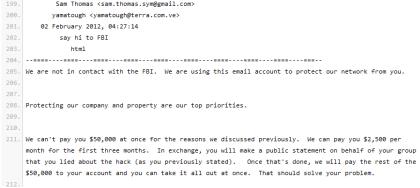 Verhandlungen zw. Symantec und YumaTough