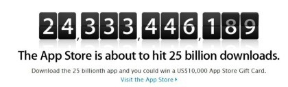App Store: 25 Milliarden Downloads